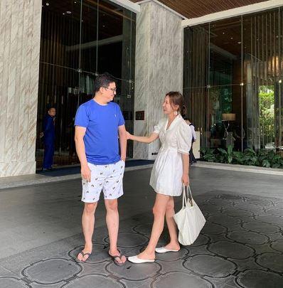 이지혜, 남편과 행복한 방콕 휴가 근황 공개